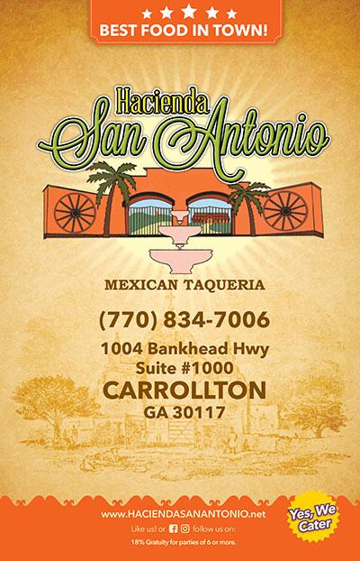 Hacienda San Antonio Carrollton Location
