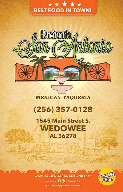 Hacienda San Antonio Wedowee Location